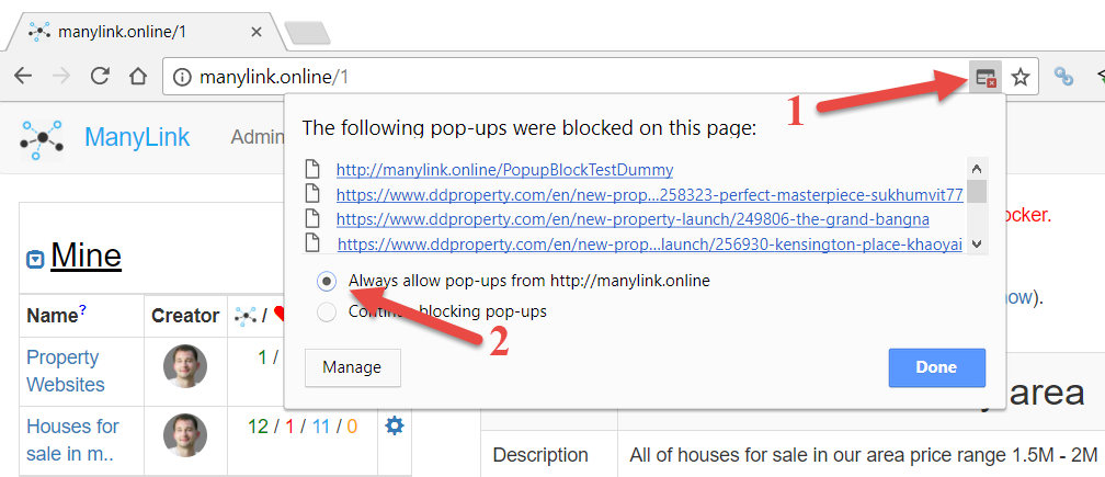 How to disable Popup Blocker in Chrome
